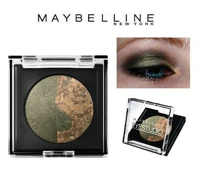 MAYBELLINE Eyestudio Duo Sombra de Ojos Eye Shadow 51 Savanna Green