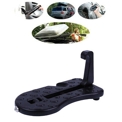 Portable Car Hook Step Ladder Latch Door Folding Foot Pedal For Car Truck