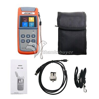 Mini Optical Time Domain Reflectometer OTDR with Visual Fault Locator Function