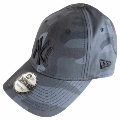 New Era Mens 9FORTY Essential New York Yankees Cap - Midnight Camo/Black