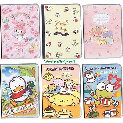2020 Sanrio Journal Planner Weekly Monthly Yearly Schedule Calendar Book Diary
