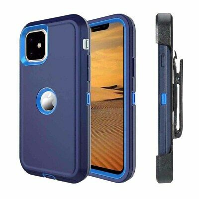 For Apple iPhone 11 Pro Max With Belt Clip (Holster Fits Otterbox Defender Case)