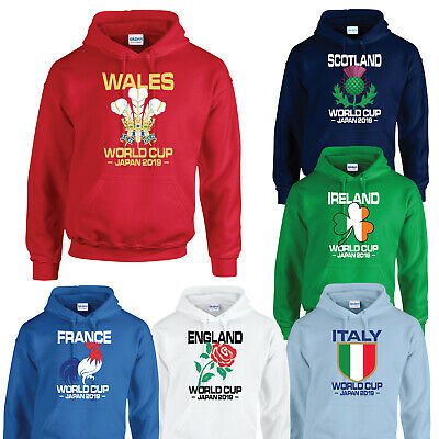 Rugby World Cup Japan 2019 Hoodie Hoody England Wales Scotland Ireland France