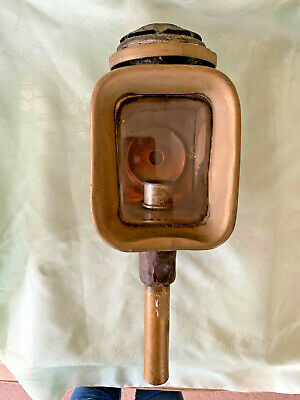 Quality Carriage Lantern/Lamp  Brass /copper Antique For Restoration Peters & S