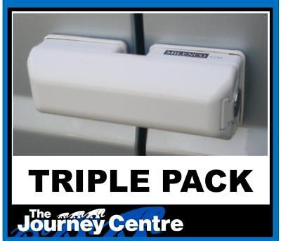 Ford Transit Custom Milenco Van Security Door Lock Triple Pack