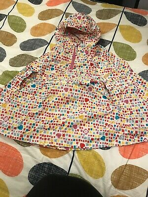 Peter Storm Poncho In A Pocket Girls Age 3-4 Years