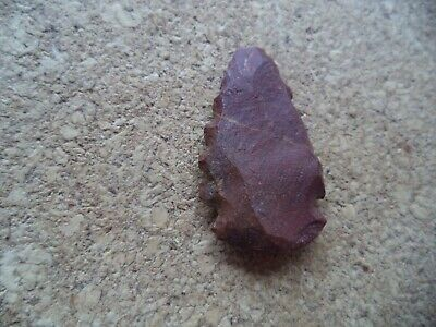 Native American Indian Authentic Antique Flint Arrow Head