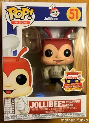 JOLLIBEE Philippine Barong 51 Funko Pop Ad Icons Exclusive Independence Day MINT