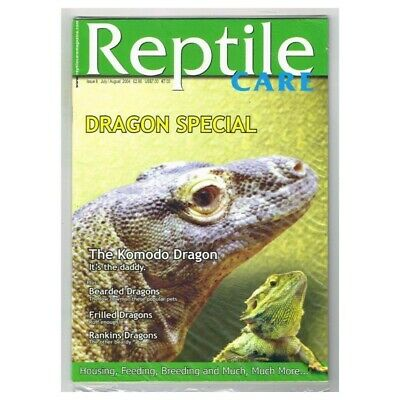 Reptile Care Magazine July/August 2004 MBox97 Dragon Special