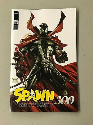 SPAWN 300 2ND PRINTING Todd McFarlane Greg Capullo J Scott Campbell Marvel HOT