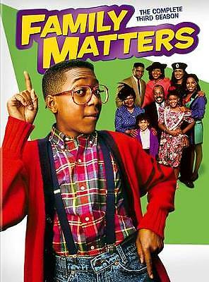 Family Matters: The Complete Third Season (DVD, 2013, 3-Disc Set)