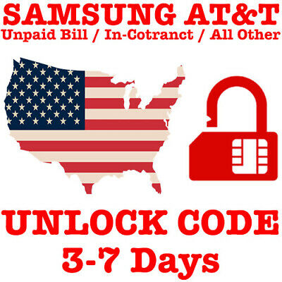 ATT PREMIUM FACTORY UNLOCK CODE SERVICE FOR AT&T SAMSUNG GALAXY NOTE 10 10+ Plus