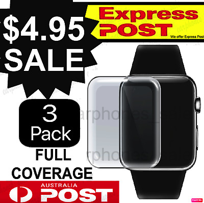 X3 For Apple Watch Series Film Gel Curved Screen Protector 38/42mm 40/44mm