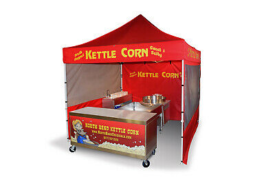 Kettle Corn Equipment Concession Package - NEW