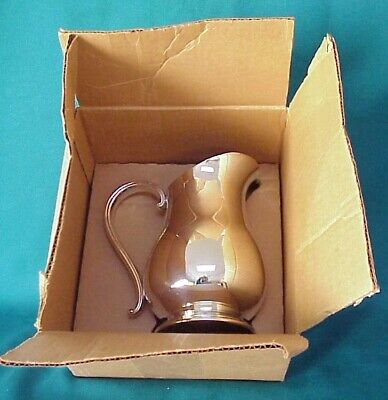 Vtg. Newport Silver Plate Gorham Textron Vb 300 Water Pitcher Ice Guard Org. Box