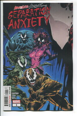 Absolute Carnage Separation Anxiety (2019 Marvel) #1 Nm