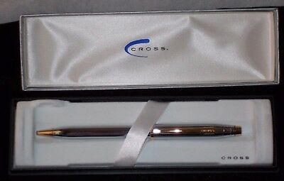 Cross Pen Century Ii, Medalist/Ball Point Pen W/Chrome Design (3302Wg) Usa Made