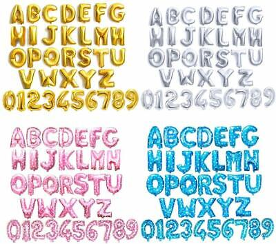 Greeting Cards & Party Supply Gold & Silver 16 Alphabet Letter Number Personalised Name A-Z Foil Balloons UK
