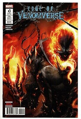 Edge Of Venomverse #3 2Nd Print Mattina Variant Cover Venomized Ghost Rider Nmt