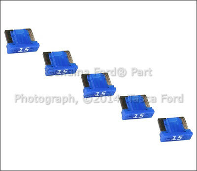 New Oem Circuit Breaker Assembly 15 Amp 58 Volt Blade Blue Minifuse Lincoln Ford