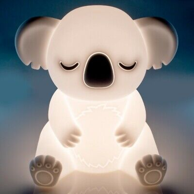 ~❤️KOALA NIGHT LIGHT Rechargeable USB Soft/Cool touch LED white glow New Release