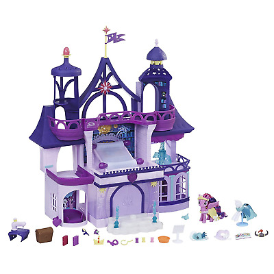 My Little Pony Toy Magical School of Friendship Playset with Twilight Sparkle Fi