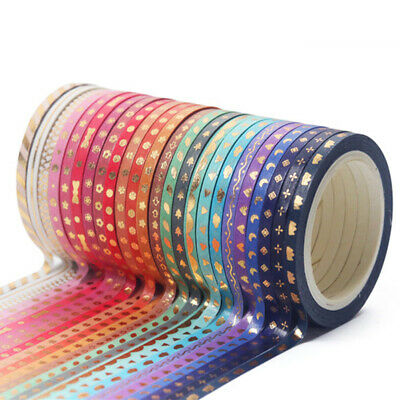 24 Roll 5M Washi Tape Scrapbook Tape DIY Decor Craft Gift Wrapping Scrapbooking