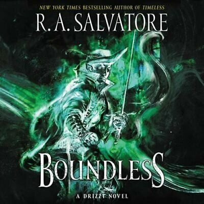 Boundless: A Drizzt Novel by R A Salvatore: New Audiobook