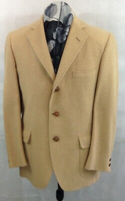 Camel Hair Sport Coat, Made By Majer for London W Clothier Haberdasher Dayton
