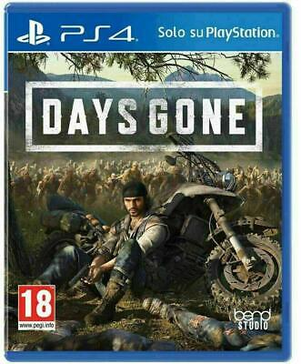 Days Gone - Playstation 4 Ps4 - New & Sealed