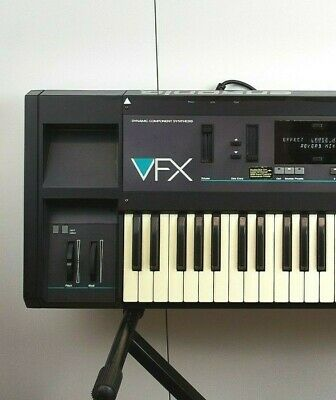 ENSONIQ VFX Dynamic Component Synthesizer Vintage 1989 U.S.A Made