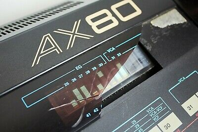 AKAI AX80 Programmable Polyphonic Synthesizer Vintage 198* Made in Japan