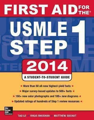 First Aid For The Usmle Step 1  by Tao Le FA