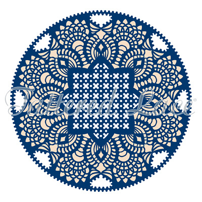 New Tattered Lace Whitework Doily Cutting Dies TLD0043