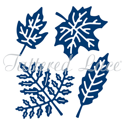 New Tattered Lace Botanical Leaves Cutting Dies D804