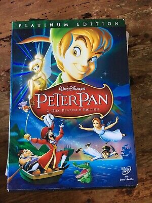 Disney's PETER PAN (2007, 2-Disc DVD Set, Special Platinum Edition)
