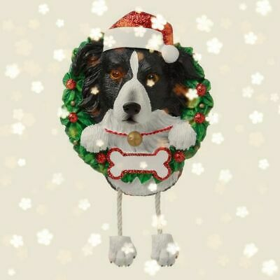 Border Collie Christmas Decoration Bauble Ornament Gift/Present Dog
