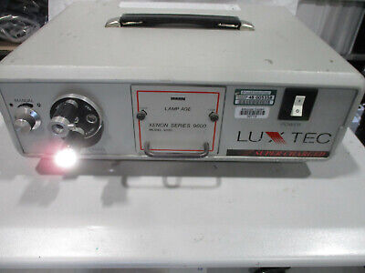 Luxtec Xenon Series 9000 Model 9300 Light Source Super Charged
