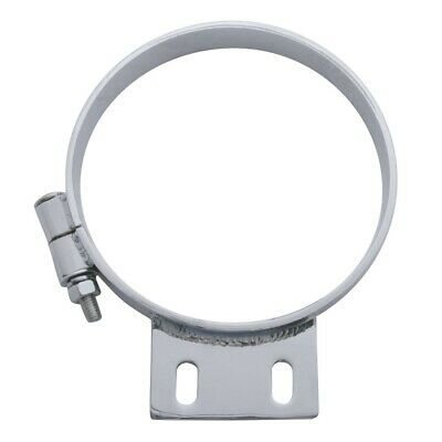 "Chrome Peterbilt Cab 7"" Exhaust Clamp"