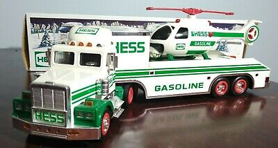 Hess 1995 Toy Truck and Helicopter In Box
