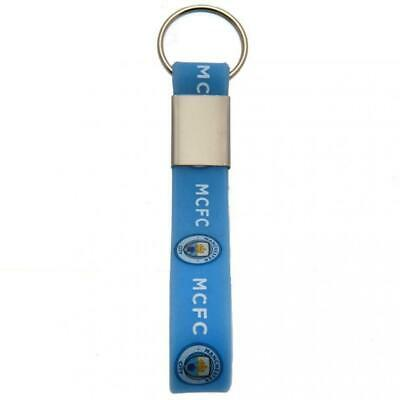 Manchester City F.C. Silicone Keyring