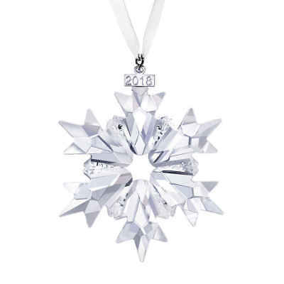2018 Annual Limited Edition Snowflake Christmas Ornament by Swarovski-BRAND NEW