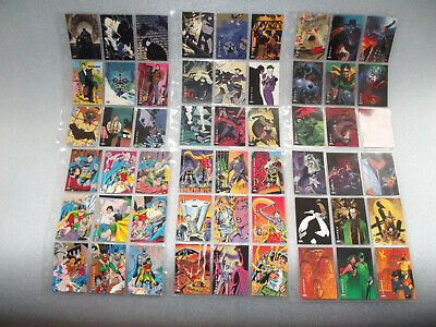 Batman cards, lot collection Sky Box, Animated Series, Returns, Adventures Robin