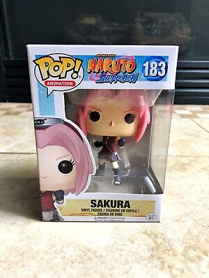 Funko Pop Animation Sakura Naruto Shippuden Anime 183 Vinyl Figure IN Hand