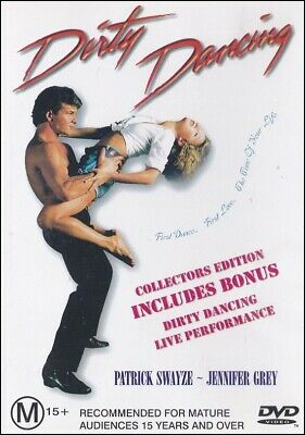 DIRTY DANCING (Patrick SWAYZE Jennifer GREY Jerry ORBACH) Romantic Film DVD
