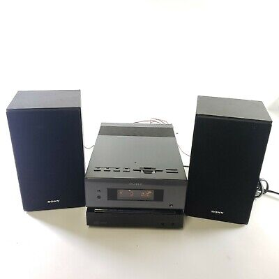 SONY CMT-BX1 MICRO STEREO RECEIVER CD/MP3/Aux Player - Tested, Working