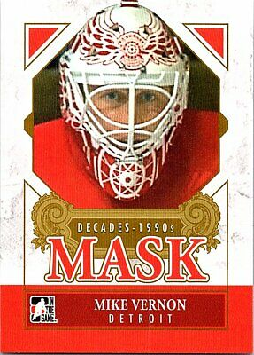 2013-14 ITG Decades 1990s Masks #DM16 Mike Vernon