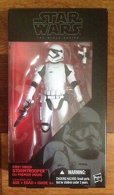 "New Hasbro Star Wars The Black Series First Order Stormtrooper 6"" Action Figure"