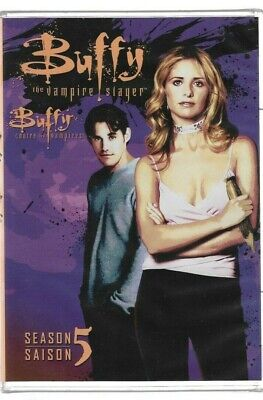 Sealed New DVD - TV Series - BUFFY THE VAMPIRE SLAYER Season 5 Also In French