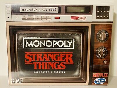 Monopoly Stranger Things Collectors Edition Board Game 2019 *ON HAND* *SOLD OUT*